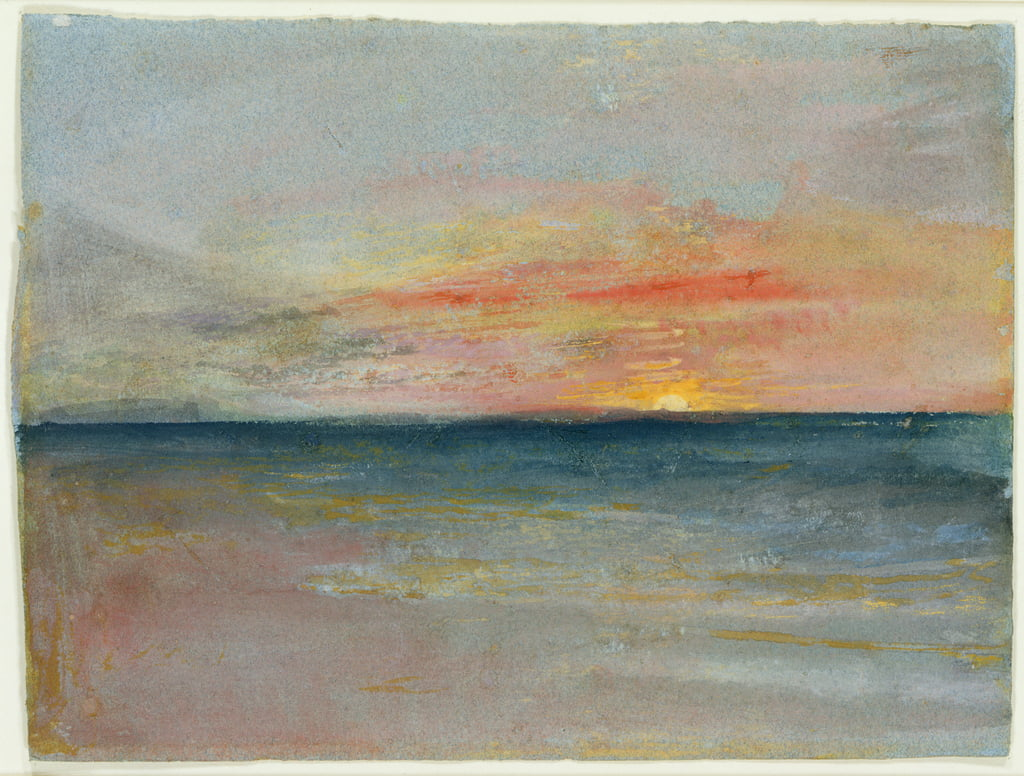 Sky Study  by Joseph Mallord William Turner