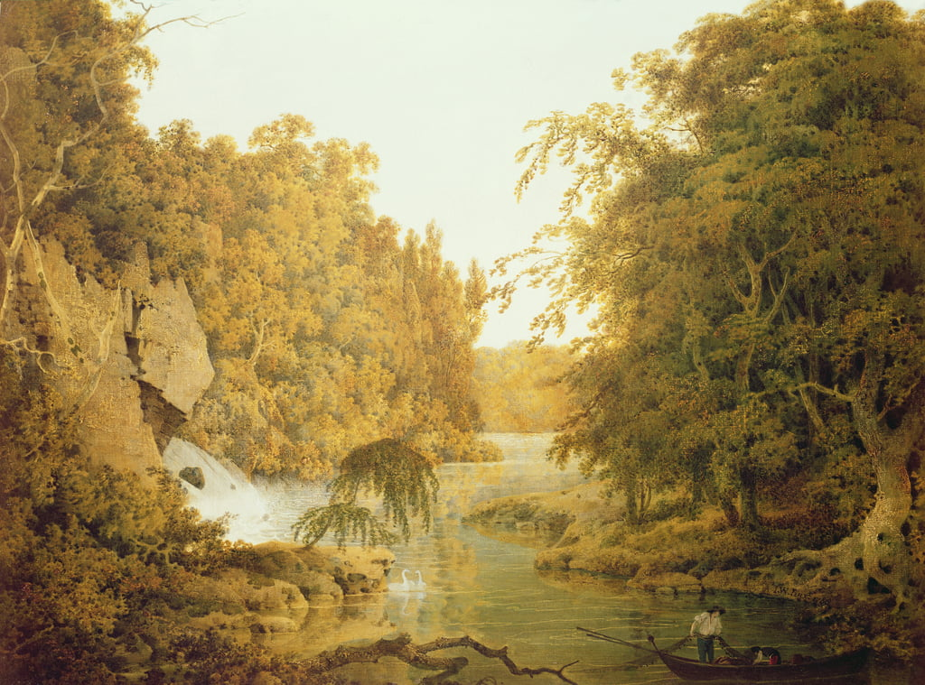 Dovedale, the Peak District by Joseph Wright of Derby
