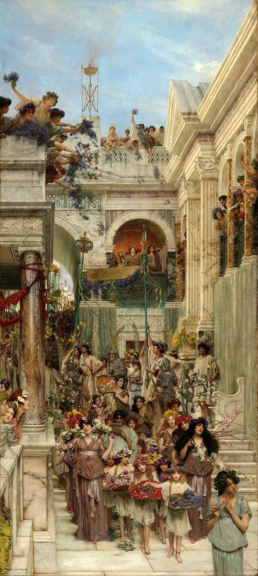 Spring by Lawrence Alma Tadema