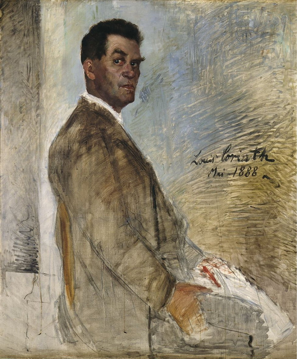 Portrait of Franz Heinrich Corinth, the Artists Father by Lovis Corinth