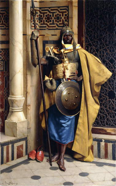 The Palace Guard by Ludwig Deutsch