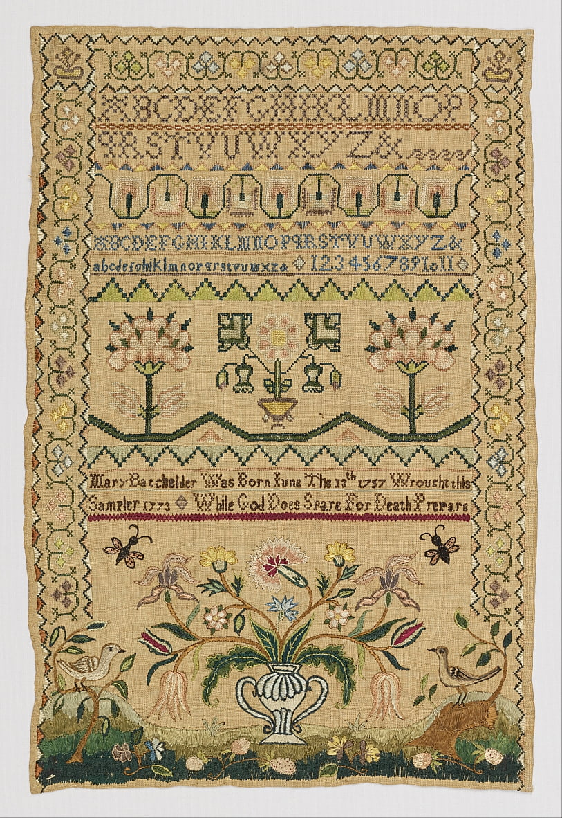 Sampler by Mary Batchelder