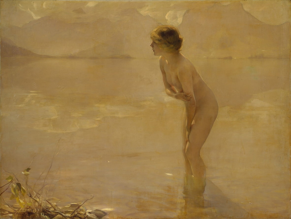 September Morn by Paul Emile Chabas