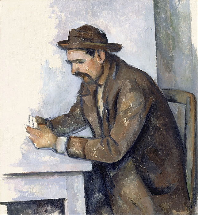 The Cardplayer, 1890-1892 by Paul Cézanne