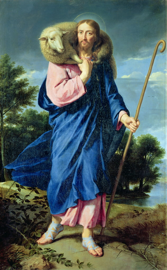 The Good Shepherd, c.1650-60  by Philippe de Champaigne