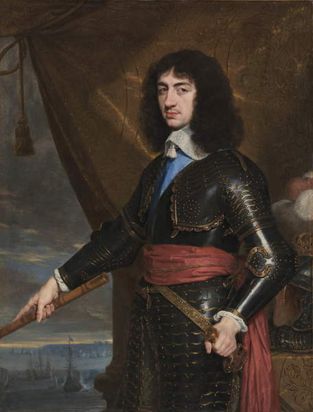 Portrait of King Charles II of England, 1653 by Philippe de Champaigne