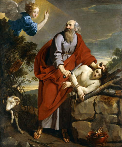 The Sacrifice of Isaac, by Philippe de Champaigne