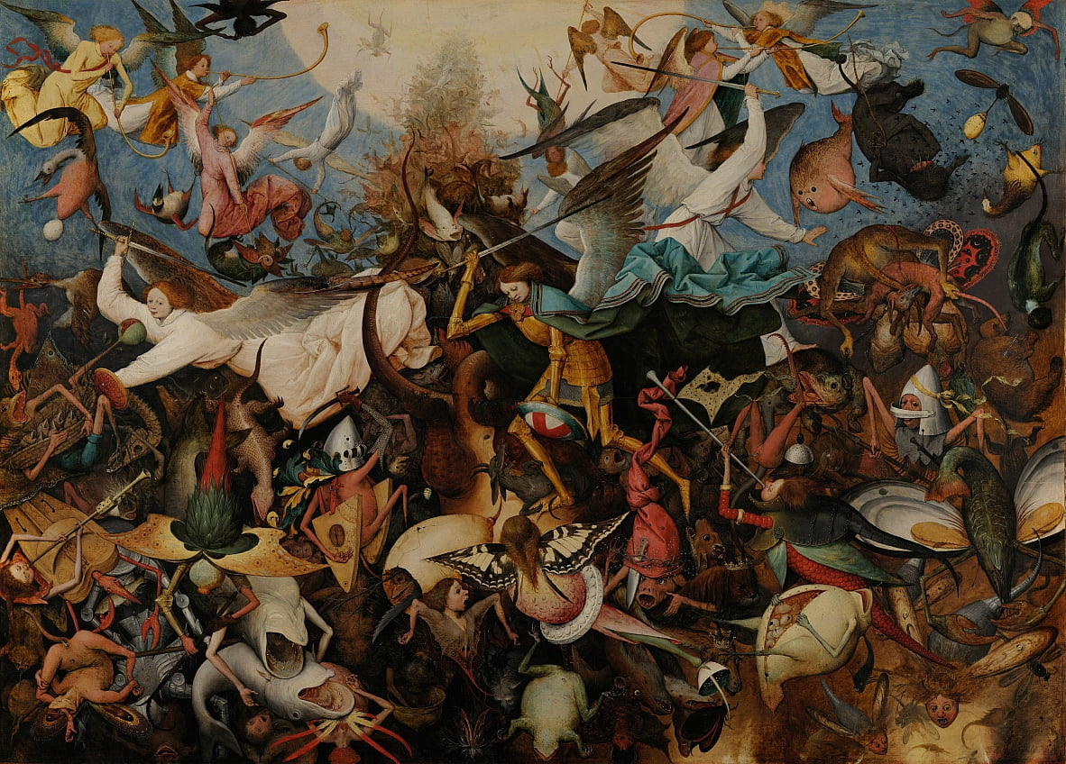 The Fall of the Rebel Angels by Pieter Bruegel the Elder