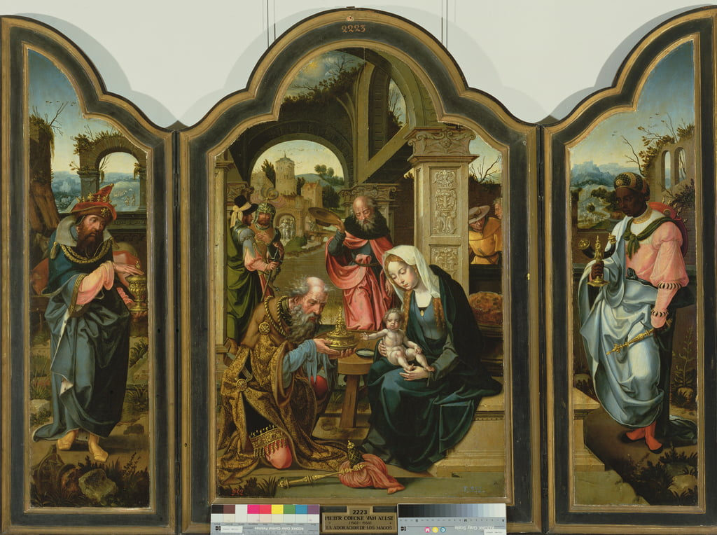 Adoration of the Magi  by Pieter Coecke van Aelst
