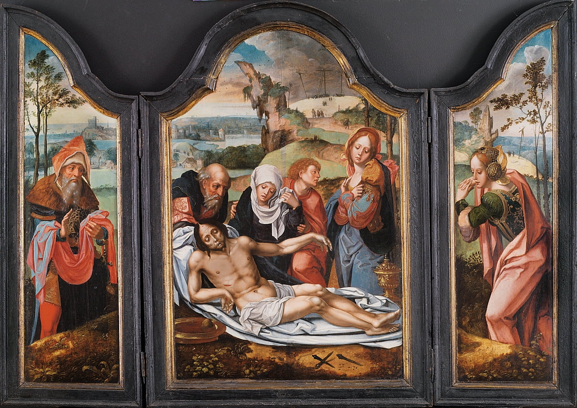 Lamentation over the Dead Christ by Pieter Coecke van Aelst