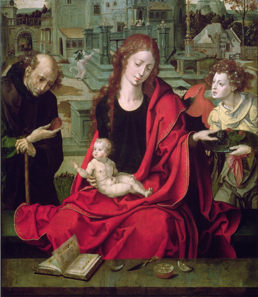 The Holy Family, 16th century by Pieter Coecke van Aelst