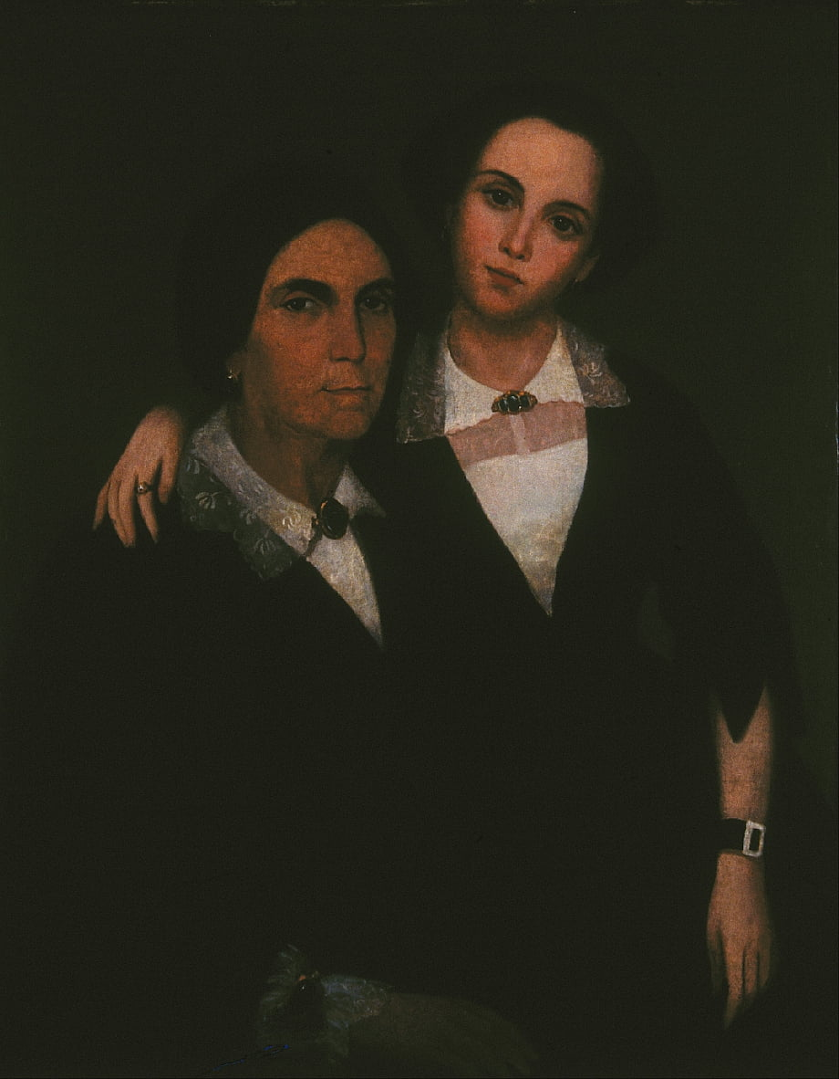 Untitled (Mother and Daughter of Mr. buenaventura Valentín) by Ramón Atiles y Pérez