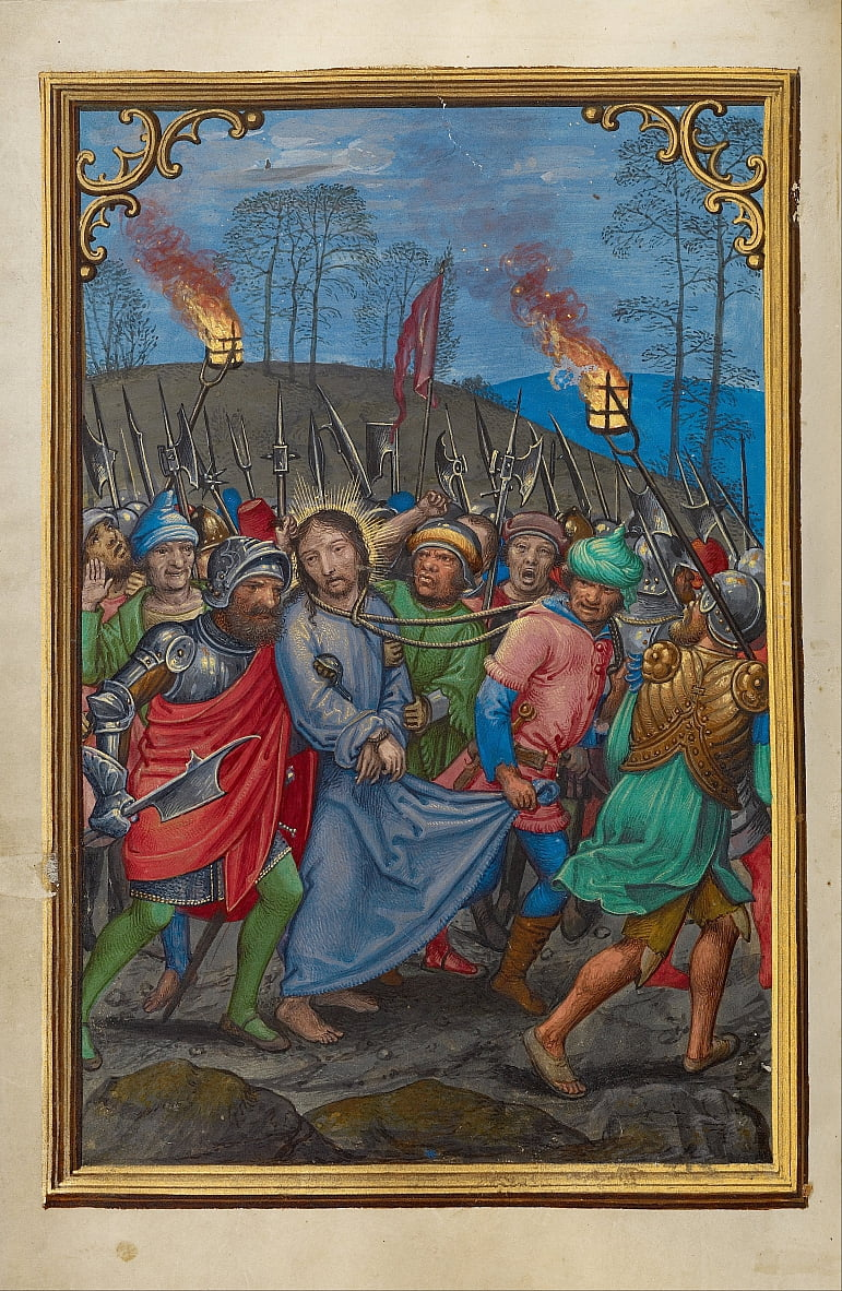 The Arrest of Christ by Simon Bening