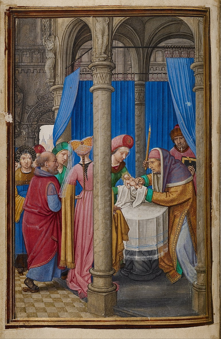 The Circumcision by Simon Bening