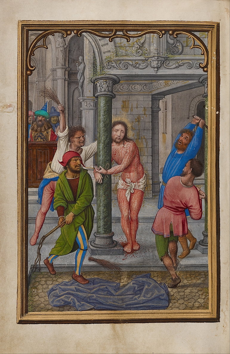 The Flagellation by Simon Bening