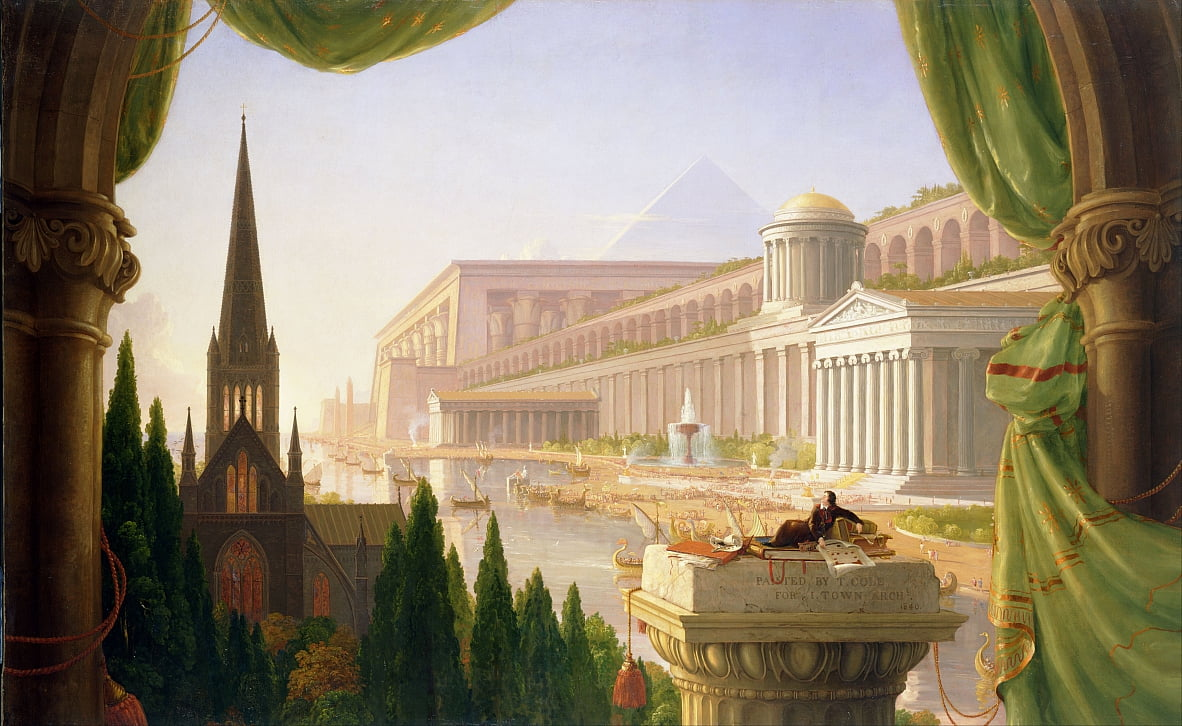 Architects Dream by Thomas Cole