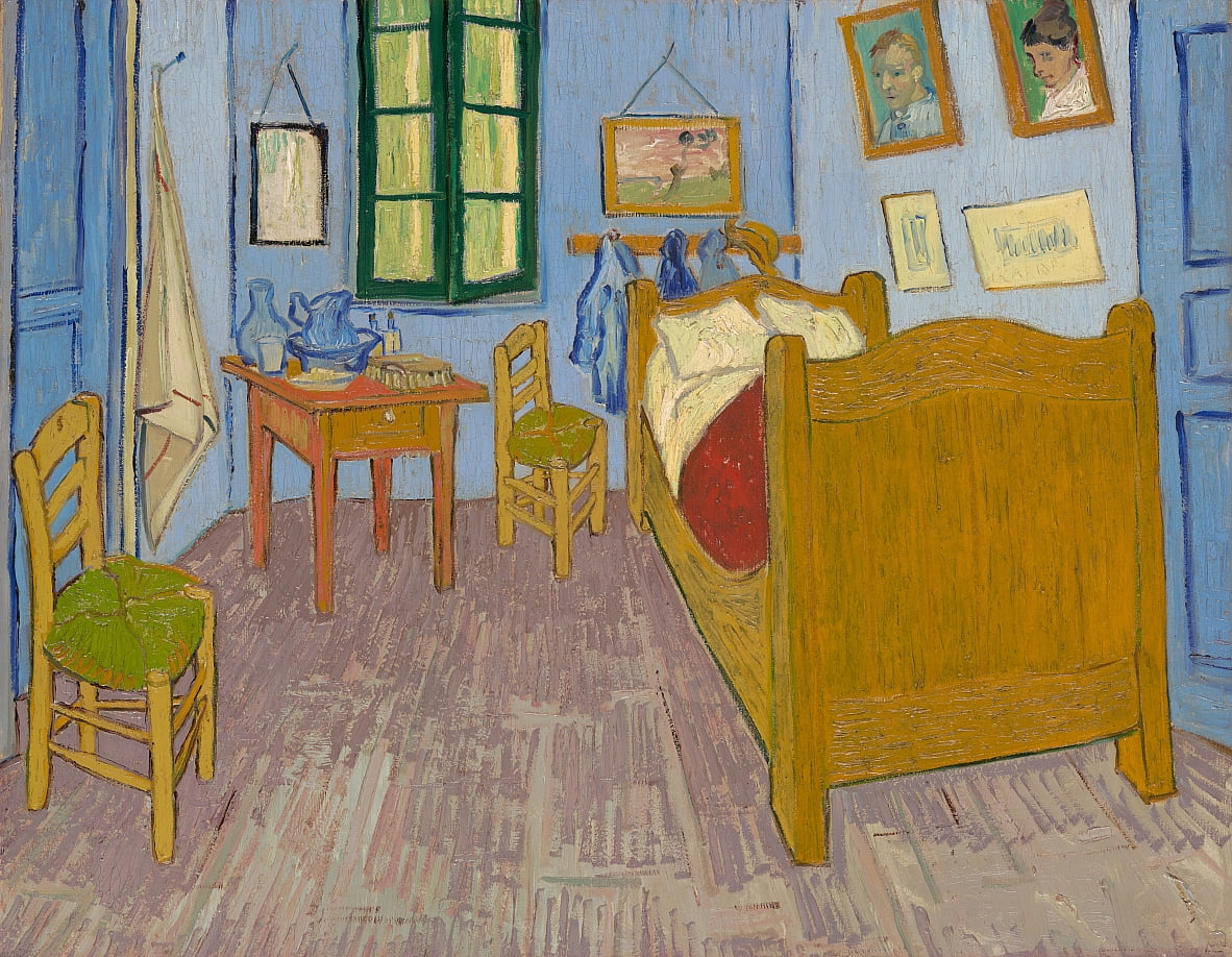 Vincents Schlafzimmer in Arles by Vincent van Gogh