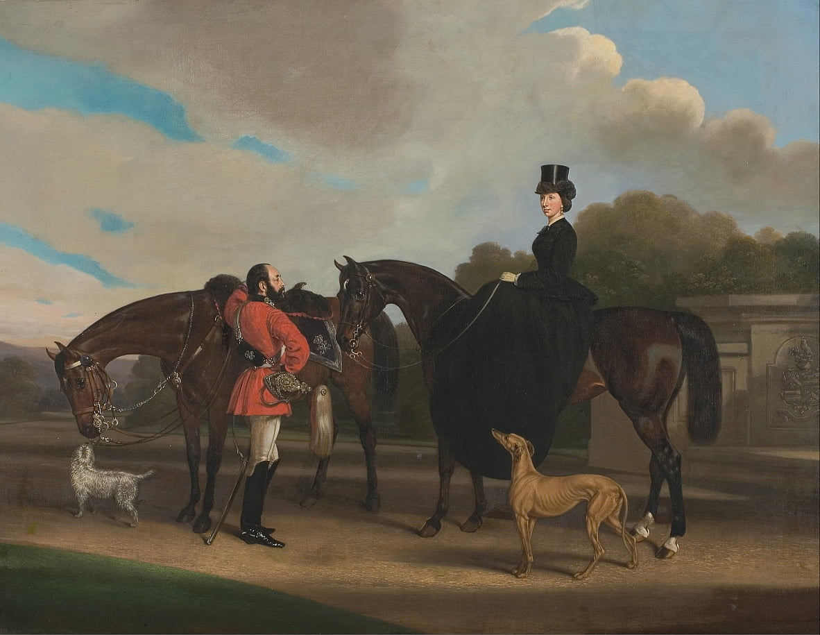 Lord and Lady Twemlow by William Barraud