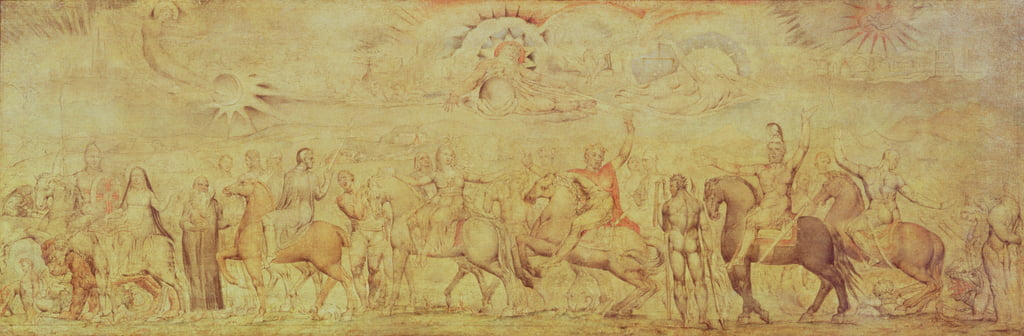 The Faerie Queene by William Blake