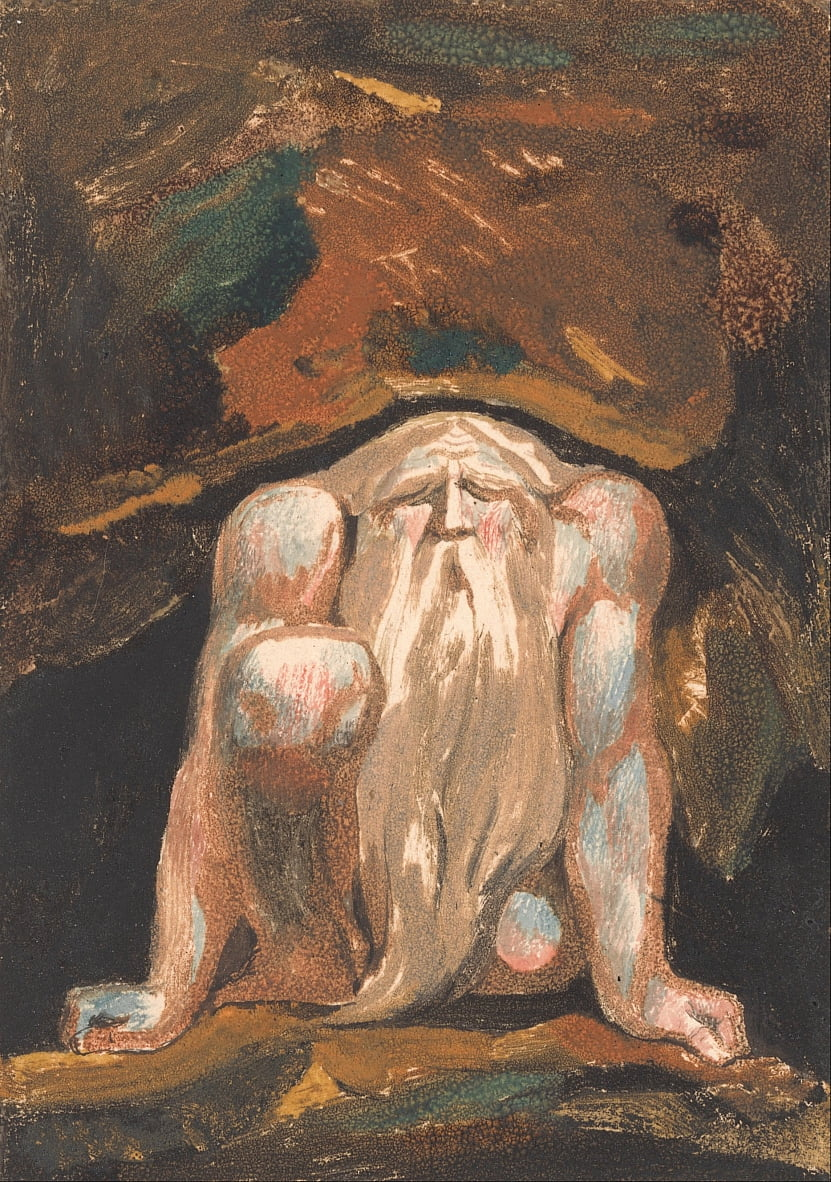 The First Book of Urizen, Plate 8 (Bentley 9) by William Blake