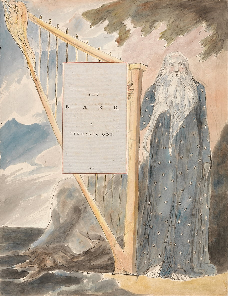 The Poems of Thomas Gray, Design 53,  by William Blake