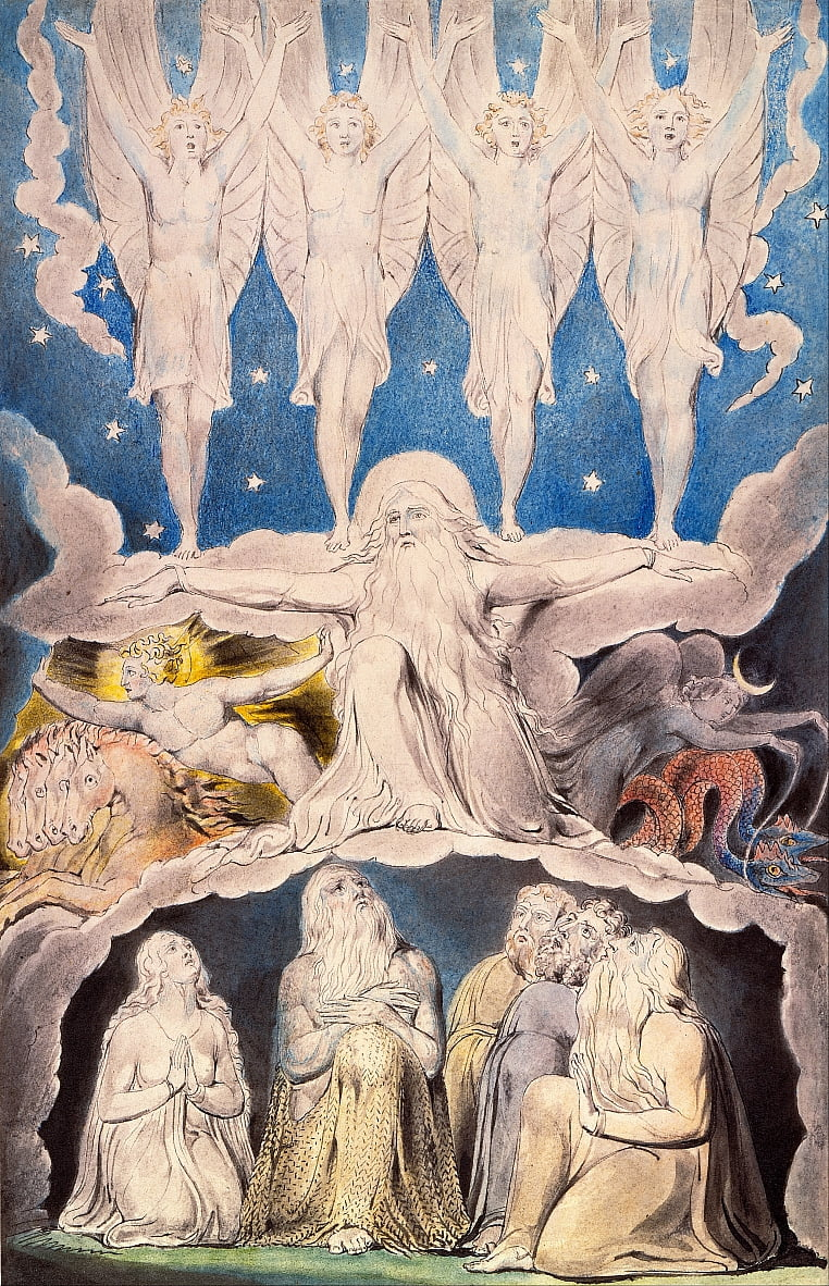 When the Morning Stars Sang Together by William Blake