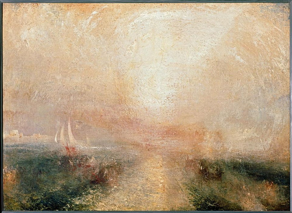 Yacht Approaching the Coast by Joseph Mallord William Turner
