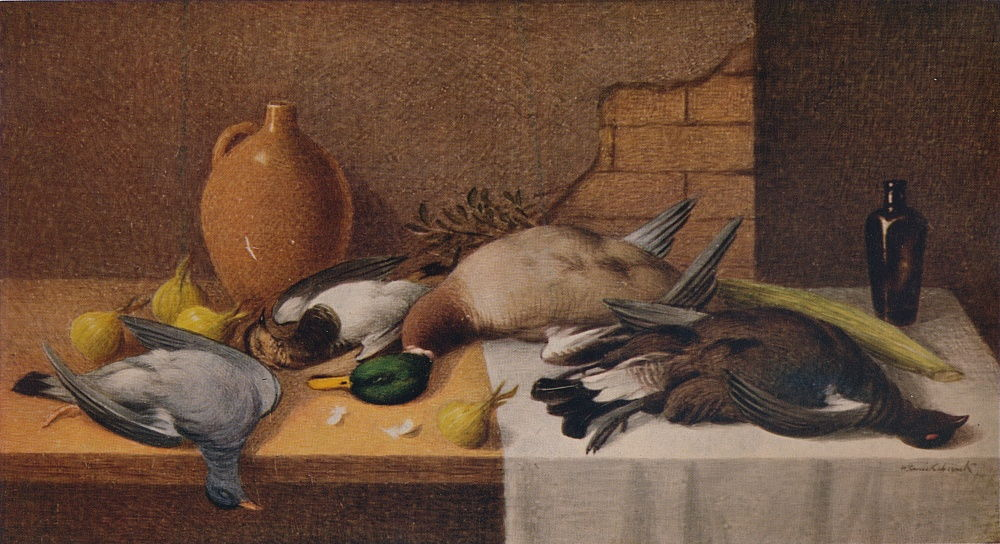 Still Life Game Birds, c1895 by William Cruikshank